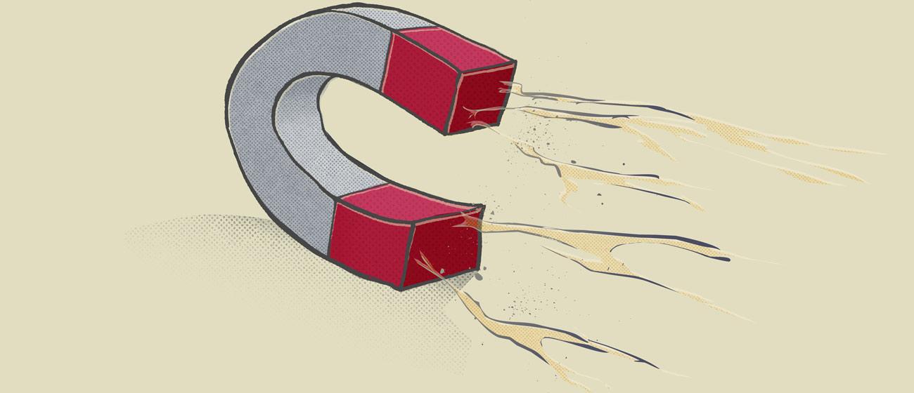 Kommunikation und Design mit magnetischer Anziehungskraft